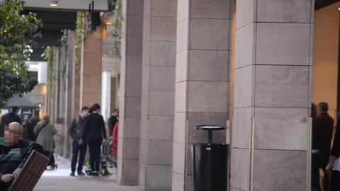 People Talking People Walking Footage