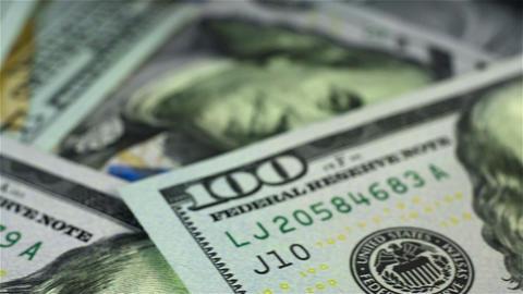 Many Dollar Bills Footage