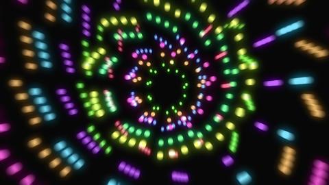 Abstract Warp Loop 2020 Animation