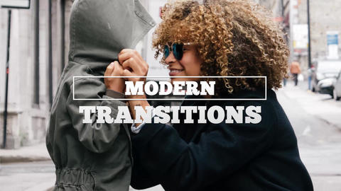 Modern Transitions After Effects Template