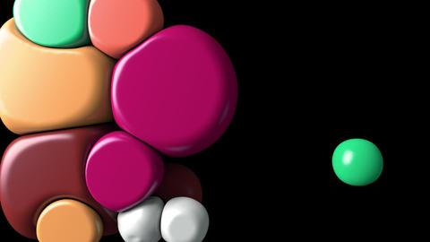 Squishy Balls Colorful Animation