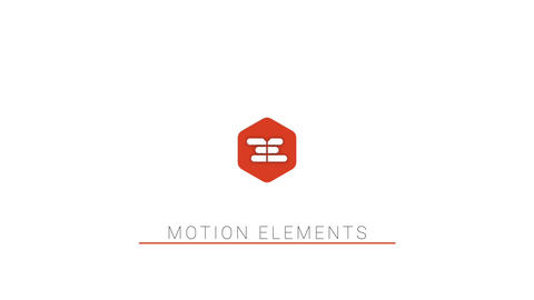 Minimal Clean Logo Reveal Apple Motion Template