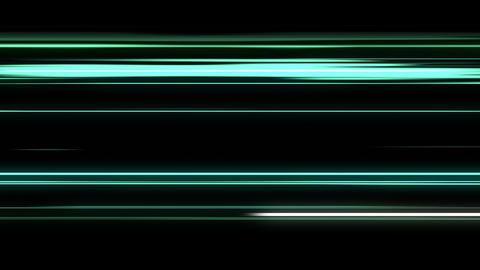 Abstract Animation Of Energy Aqua Lines Animation
