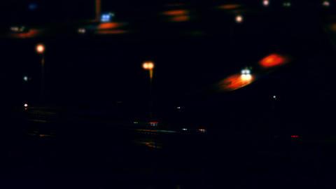 4K Cars on Road / Cars Traffic / Night City Footage