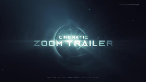 ZOOM Cinematic Trailer After Effects Template