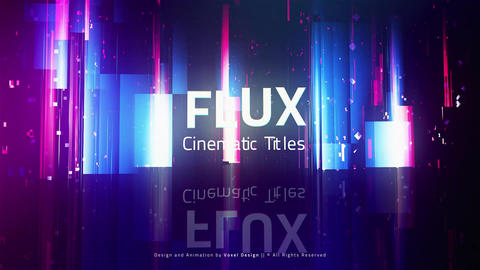 FLUX Cinematic Titles After Effects Template