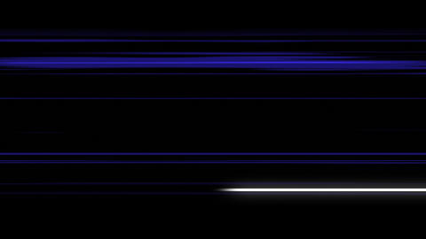 Abstract Animation Of Energy Blue Lines Animation