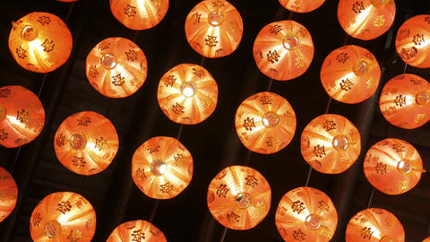 Lanterns On Ceiling Live Action