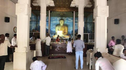 Anuradhapura, Sri Lanka, event in temple 12 part Live Action