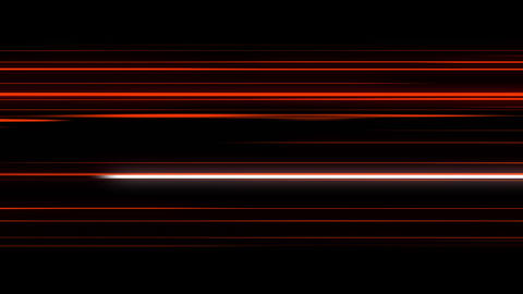 Abstract Animation Of Energy Red Lines Animation