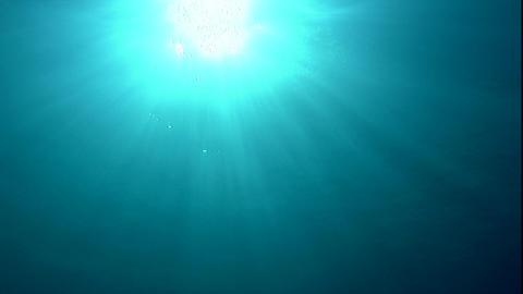 水中から太陽05 Footage