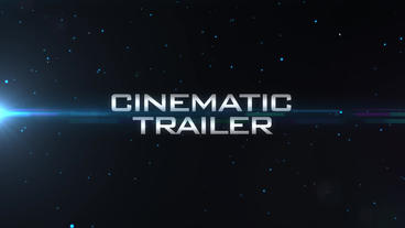 Cinematic Blockbuster Trailer - High Energy Text Titles Shatter Transition Intro After Effects Project