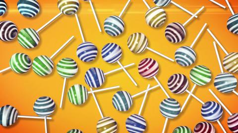 Candy on stick Animation