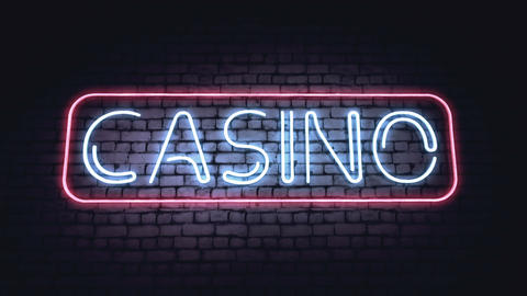 BAR, CASINO and XXX neon signs Animation