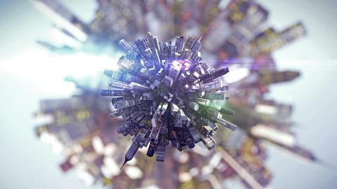 big city on small planet Animation