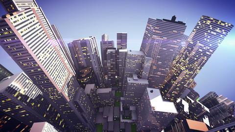 city globe Animation