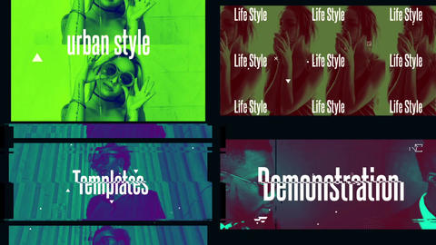Modern Style Slideshow After Effects Template