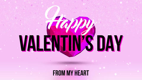 Valentine's Day Opener - 3D Heart After Effects Template