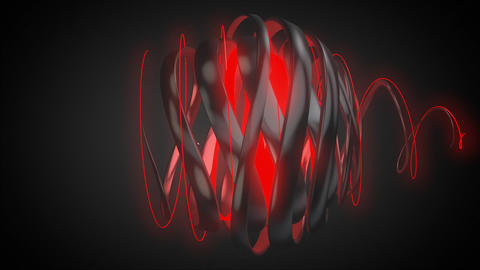 Book now-Spiral text Animation