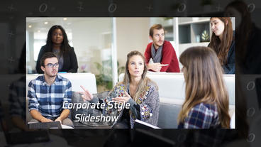 Corporate Style Slideshow After Effects Template
