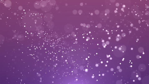 Abstract White Particles Falling Slowly Motion Background Animation