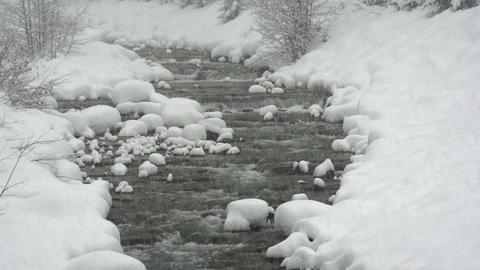 Snowy River Slow Motion Footage