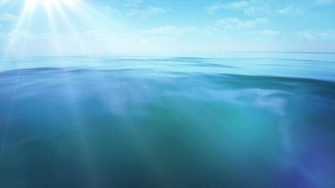 Ocean flare Animation