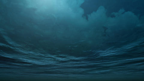 Storm with undersea angle Animation