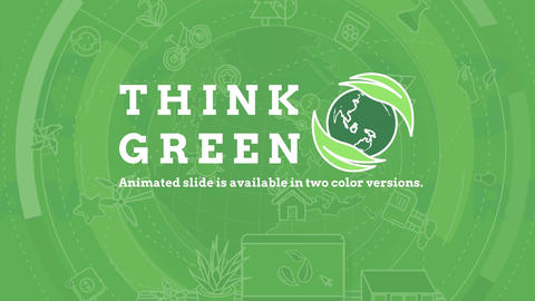 Think Green After Effects Template