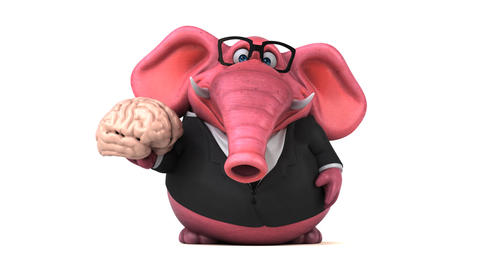Fun Elephant - 3D Animation Animation