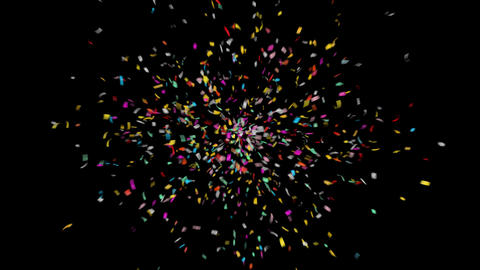 Confetti / QuickTime Alpha Channel Animation