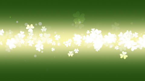 Animation Saint Patricks Day holiday background with... Stock Video Footage