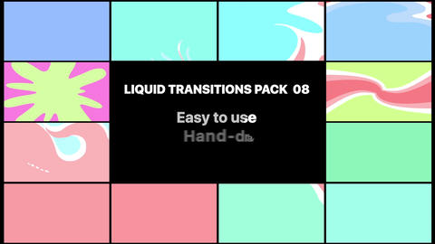 Liquid Transitions Pack 08 Apple Motion Template