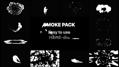 Smoke Elements Pack 02 Apple Motion Template
