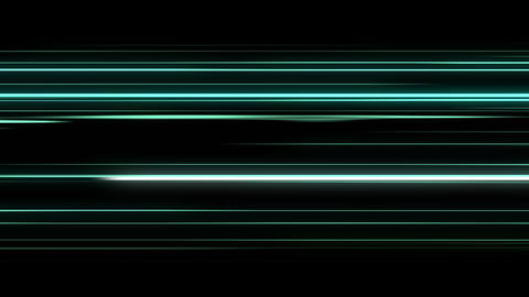 Abstract Animation Of Energy Colorful Lines Animation