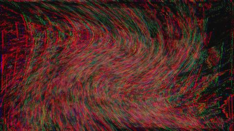 Looped holographic background. Damaged TV effect, Digital animation 실사 촬영