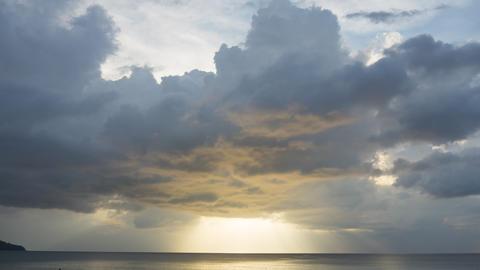 Afternoon sky landscape at Phuket GIF