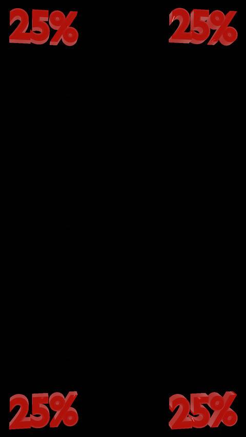 5% Integer Vertical Spinners W/Alpha Channel 1
