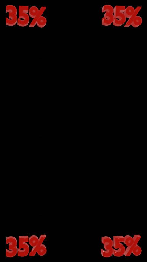 5% Integer Vertical Spinners W/Alpha Channel 2