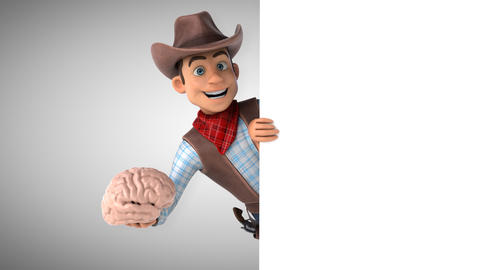 Fun Cowboy - 3D Animation Animation