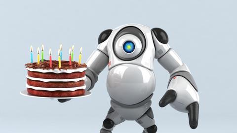 Big robot - 3D Animation Animation
