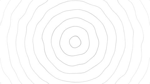 Concentric circle element motion design background Animation