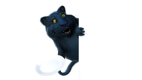 Fun cat - 3D Animation Animation