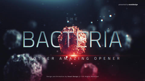 The Bacteria Infection Opener After Effects Template