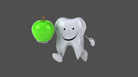 Fun tooth - Computer animation Animation