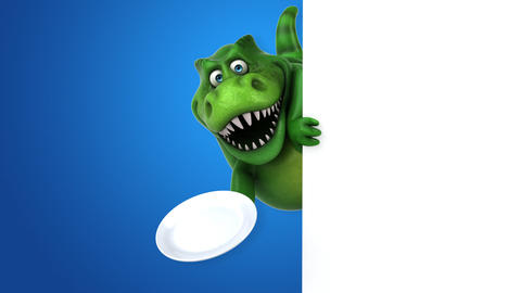 Fun dinosaur - 3D Animation Animation