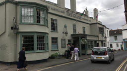 The Globe Inn Topsham Devon UK Footage