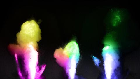 rainbow Fire flame loop animation Animation