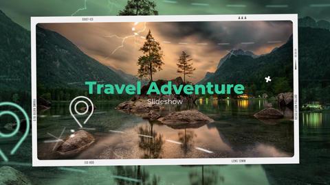 Travel Adventure Opener Premiere Pro Template