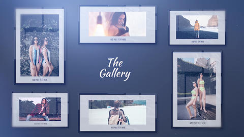 The Gallery Plantilla de Apple Motion